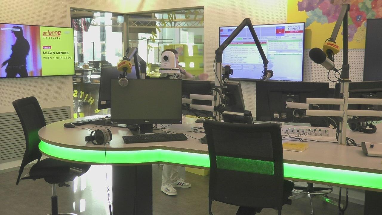 Blick ins Studio